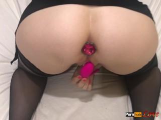 Hot Sexy Girl Mastrubating by Lovense until Orgasm