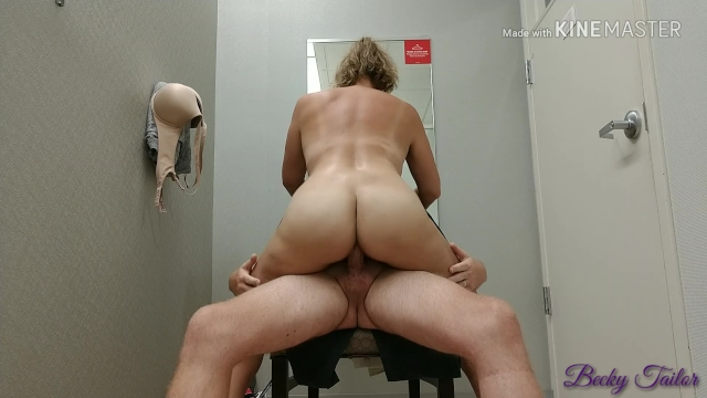 Dressing room quickie