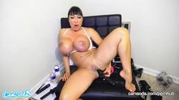 CamSoda - Ava Devine Huge Tits Anal Play Masturbation