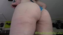 Redhead_Wunder bikini booty tease