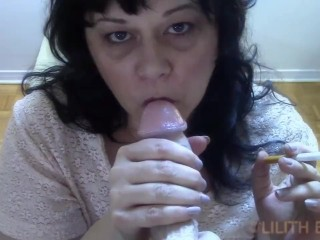 Horny Cougar Wants To Suck Cock