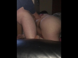 Bend her over slap her arse and fuck her hard