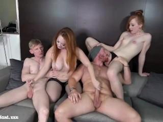Swinger Swap Foursome Fuck