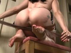 Sexy Vintage Nylons on Mary Jane