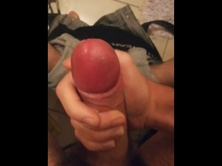 HOT TEEN French student quick cum after work