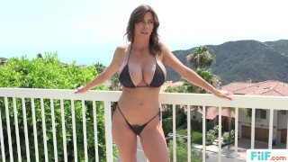 FILF - Stepmom Alexis Fawx Uses Stepson To Fulfill Her Sexual Needs