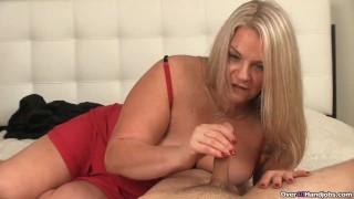 Cum-hungry Milfs Got A Throbbing Dick In Her Hands