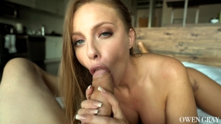 Britney Amber Passionate Amateur Sex Tape and Oral Creampie Muscle cum
