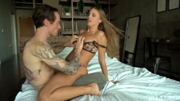 Britney Amber Passionate Amateur Sex Tape and Oral Creampie