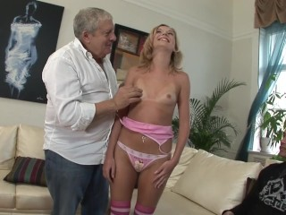 Www clean my ass com sexy girl fucks with an old and a young man! Euro blonde small tits tan