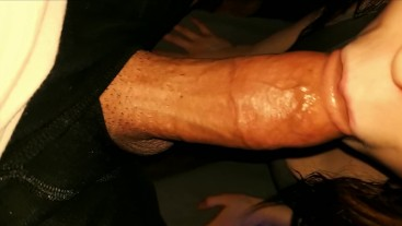 Afternoon Blowjob to Cure His Headache