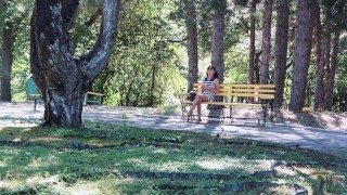 Public sex in a parc,she loves deepthroat and anal sex. Toy shaved