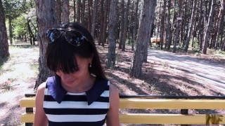 Public sex in a parc,she loves deepthroat and anal sex. Outside sex