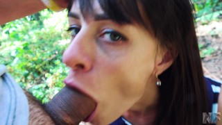 A deepthroat sex loves sex public and in anal parcshe amateur pov
