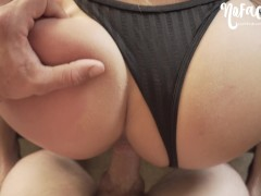 Quick Doggystyle Fuck in Fishnets - Amateur NoFaceGirl