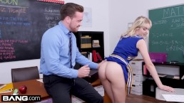 Cheerleader Chloe Cherry fucks her favorite teacher