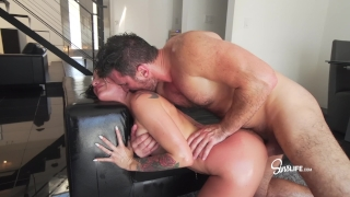 Manuel Ferrara fucks Kissa Sins with oil INTENSE In deepthroat