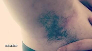 bbw hairy armpits