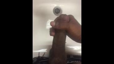 Got horny at work so I masturbated in the bathroom