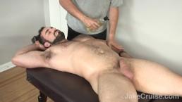 Jaxton Wheeler Massaged by Jake Cruise