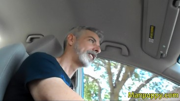 Giant Dad Drives You to School - Daddy Giant 2 - Richard Lennox - Manpuppy
