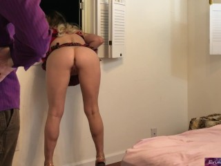 Tall black woman anal fucked