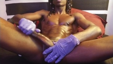 BBC Latex Glove Stroke