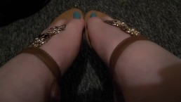 My Owl Sandals And Blue Toes