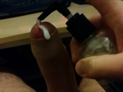 Another Hangover Edging Cock To Porn - Huge Thick Cumshot