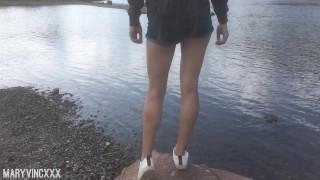 Beautiful Teen Suck Dick in the Wild - MaryVincXXX