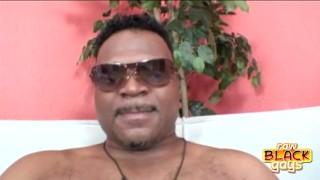 Chunky Black Stud Cash Montague Orgasm stud
