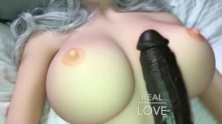 Filmy Xxx Porno - Sex doll Duży Czarny Kutas I Pełnowymiarowa Silikonowa Prawdziwa Lalka Seksu