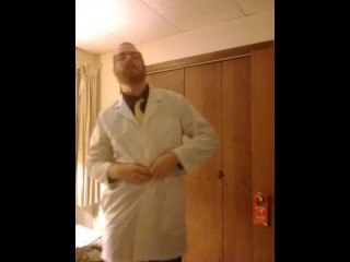 Naughty Doctor Strip Tease