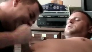 Blowjob pervert amateur from homosexual receives handjob and amateur hunk