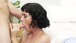 Olive Glass Seduces Her Doctor And Rides His Cock