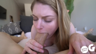 Intense Creampie Sex Scene with Bunny Colby Blonde sister
