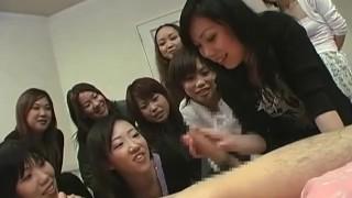 JAV CFNM Femdom Handjob Party Subtitled  masturbation bdsm femdom masturbate cfnm jav subtitles kink japanese japan group audience zenra subtitled