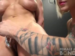 Muscle Female Lesbian Porn Stars Dani and Brandimae