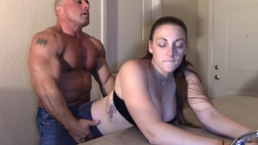 Melanie Hicks Humped by white Dick