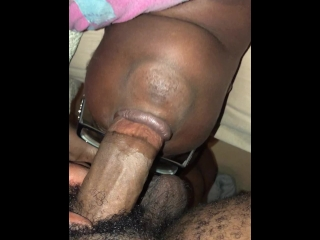 Big Head Thick Cock 1st Time Throat Fucking Wifey