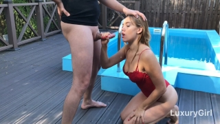 LuxuryGirl Wants My Cock And Cum All Over Her Face! Brunette tits