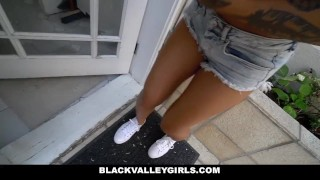 BlackValleyGirls - Blasian Bounces Her Ass  point of view black asian small blasian black tattoo young interracial reality petite shaved teenager frame natural tits bubble butt blackvalleygirls