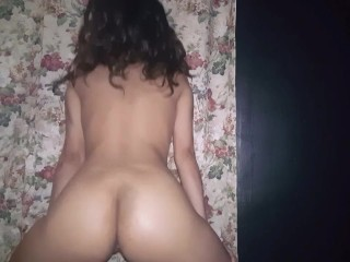 Girl with a dick fucking girl