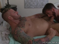 Hunk Hairy Redhead Gets Ass Fucked By Euro Inked Daddy