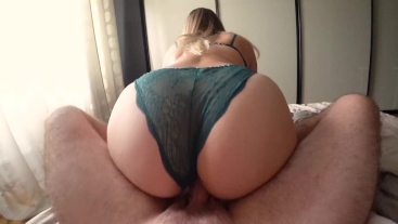 Fucked schoolgirl with a big ass through panties Tommy Hilfiger