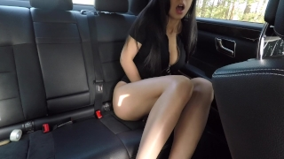 Wasn't and hot diva caught back mini seat masturbating girl on car of the seat back