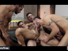 Men - Andy Star and Ely Chaim and Lucas Fox and Paddy O