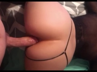 anal fuck with a young bitch