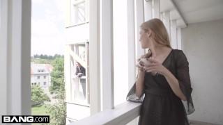 Alexis invites a random stranger into her apartment to fuck