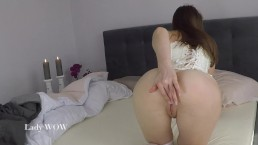 Gentle romantic cum in tight pussy for Lady WOW